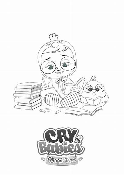 Cry Tears Magic Babies Toys Magictears Coloriage