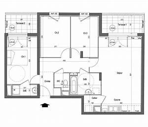 plan dappartement t4 joy studio design gallery best design With plan appartement 150 m2