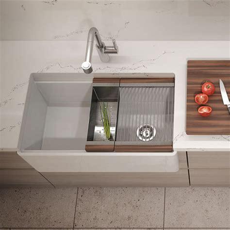 julien kitchen sinks fira collection single undermount fireclay bar kitchen 2061