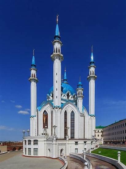 Mosque Kazan Qolsharif Kremlin Kul Sharif Russia
