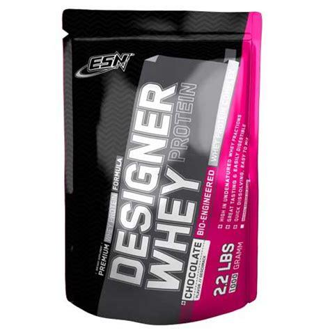 ESN Designer Whey Protein Erfahrung >> deutsches Produkt