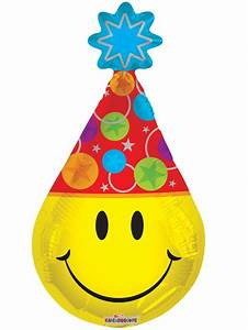 17830-14 SMILEY PARTY HAT