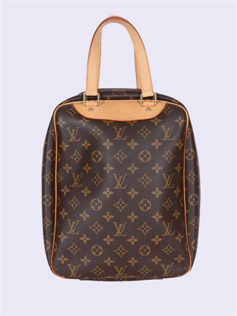 louis vuitton sac excursion monogram canvas bag luxury