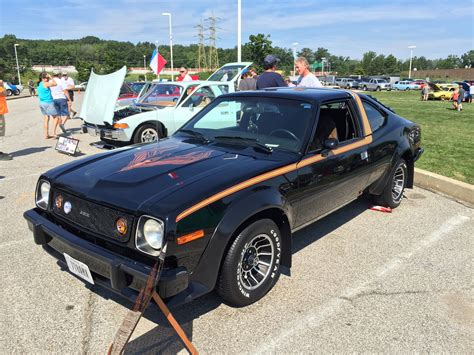 File:1978 AMC AMX at AMO 2015 meet in black with gold ...