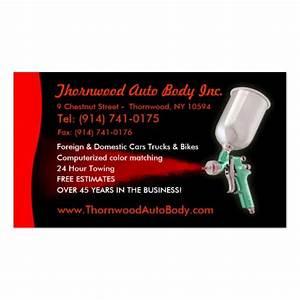 Auto body customizable business card zazzle for Auto body business cards