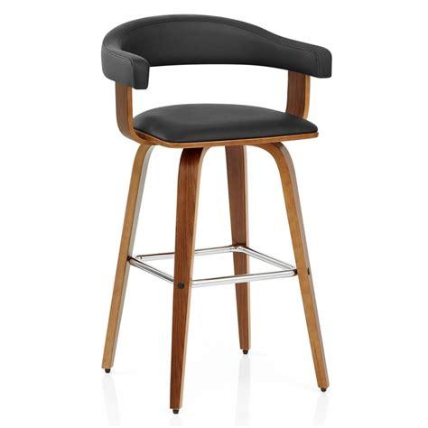 chaise de bar chaise de bar faux cuir bois ontario monde du tabouret