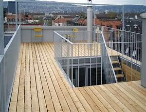 Geländer Für Treppe : metall werk z rich ag dachterrasse wohnhaus z rich ~ Markanthonyermac.com Haus und Dekorationen