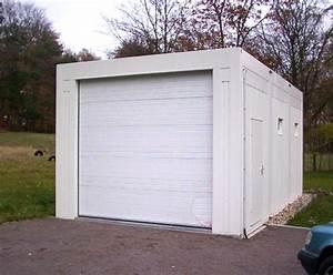 superbe garage prefabrique en kit 5 garage1 jpg 70971 With garage prefabrique en kit