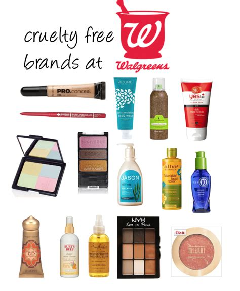 cruelty brands walgreens updated