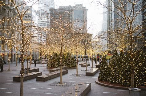 when does christmas start in new york new york city commercial island light installation