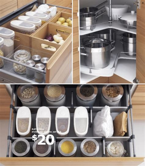 Kitchen Cabinets Organizers Ikea by Clever Kitchen Organizers At Ikea At Home With Vallee