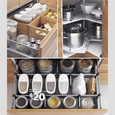 Clever Kitchen Organizers At Ikea  At Home With Kim Vallee