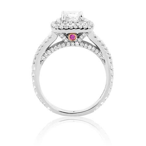 sir michael hill designer grandarpeggio engagement ring with 1 45 carat tw of diamonds in 14ct