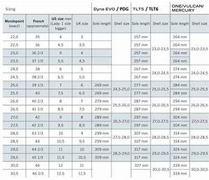 Dynafit Ski Boot Size Chart Dynafit Pdg Boot