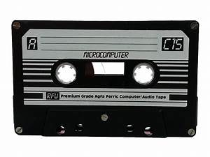 Vintage And Retro Computer Blank Data Audio Cassette Tape