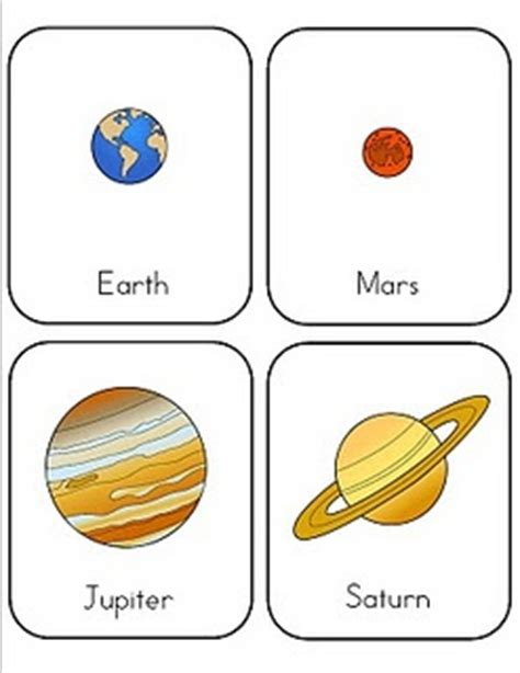 preschool printable planet cards play quot go fish quot type of 680 | 6bc11b558441516dda948e6d8ce72b5d