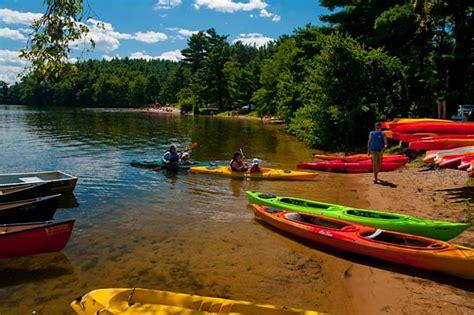 Boating In Boston At Lake Cochituate lake cochituate state park features a swimming and