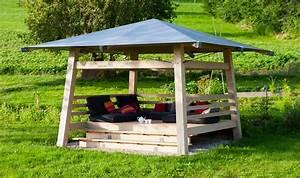 Abri De Jardin Ouvert : gazebo pavillon de jardin lenia abri de voiture ~ Premium-room.com Idées de Décoration