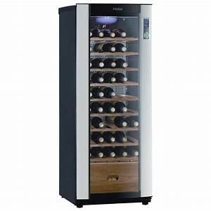 Caves A Vin : haier jc160gd cave vin de vieillissement achat vente ~ Melissatoandfro.com Idées de Décoration