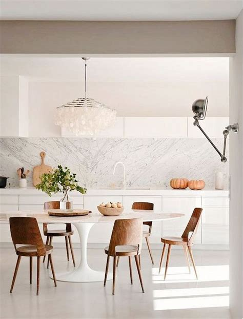 modern white kitchen table 15 astounding oval dining tables for your modern dining room