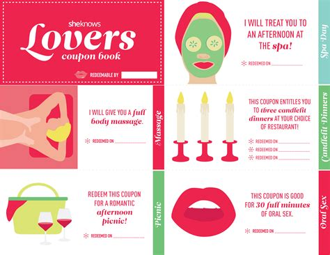 23 Love Coupon Book Ideas For Valentine's Day