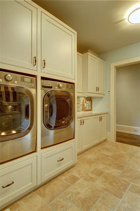 washer and dryer cabinet ideas stylish family home with transitional interiors home