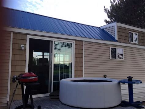 Torch Lake Tiny House Vacation Rental, Mi Free Kitchen Cabinet Software Prices Online Ikea Instructions How To Repaint Cabinets Contemporary White Wheaton Glass Front Shelves And