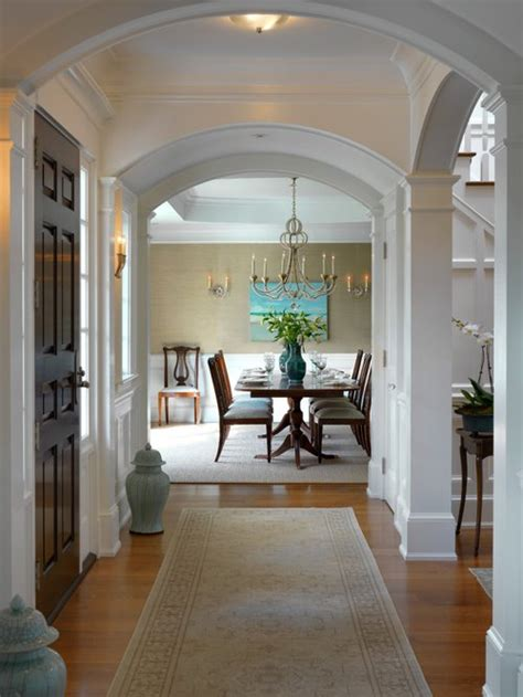 Dining Room In Entryway by Dining Room Molding Home Design Ideas Pictures Remodel