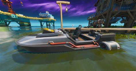 フォート ナイト モーターボート