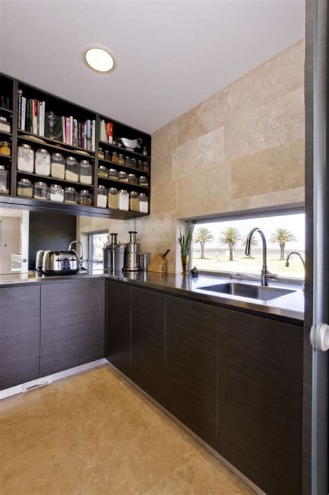 modern kitchen pantry designs butlers pantry scullery modern design butlers kitchen 7730