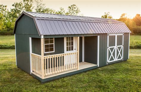 29 New Storage Sheds You Can Live In