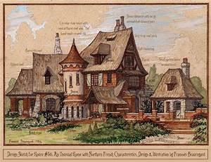 Architektur Haus Zeichnen : design sketch for house 56 by built4ever on deviantart environment design fantasy ~ Markanthonyermac.com Haus und Dekorationen