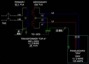 480v To 120v Control Transformer Wiring Diagram