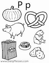 Letter Pumpkin Piano Purple Coloring Okapi Alphabet Messes Pages Daily Week Preschool Crafts Pre Words Worksheets Craft Visit Toddlers sketch template