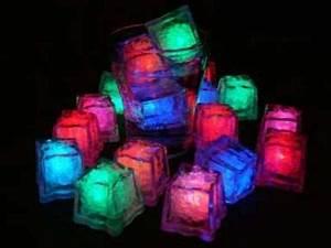 How to make glow in the dark neon ice cubes Preschool