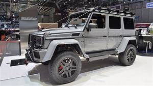 Mercedes Brabus 4x4 : brabus finds a way to make the mercedes g500 4x4 more outlandish ~ Medecine-chirurgie-esthetiques.com Avis de Voitures