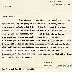 A Young Soldier's Letter to Mom from the Battle of Somme ...