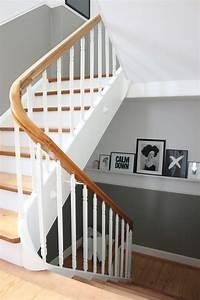 Treppen Streichen Ideen : hereinspaziert ins lilahaus auf dem weg nach oben lilaliv flur treppenhaus pinterest ~ Markanthonyermac.com Haus und Dekorationen