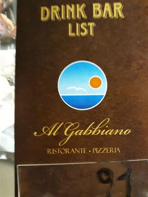 pizzeria al gabbiano ristorante al gabbiano cefal 249 ristorante recensioni