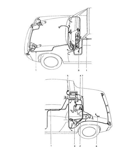 Porsche 914 Wiring Harnes by 914 Wiring Harnesses