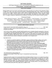 resume format for senior account executive public relations publisher resume