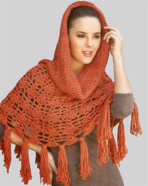 lace light shawl crochet poncho pattern warm crochet pattern crochet
