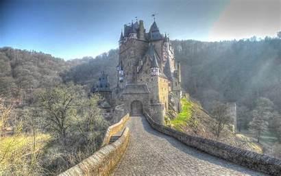 Castle Medieval Wallpapers Eltz Wallpaperplay Walls