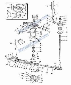 Mercury 40 Hp Outboard Motor Diagram