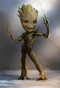Un Baby Groot pre-adolescente nei nuovi concept art di ...