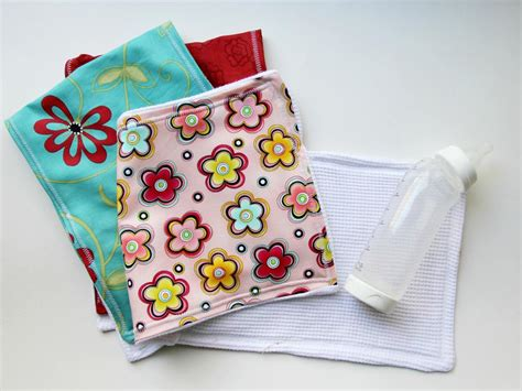 easy sewing project     baby burp cloth