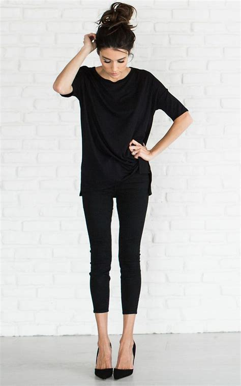 28 Stylish All-Black Girlsu2019 Outfits For Fall - Styleoholic