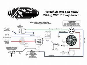 Unique Kenlowe Electric Fan Wiring Diagram  Diagram