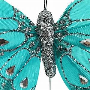 Deko Schmetterlinge Groß : deko schmetterlinge t rkis mit strass glitter 8cm 6st gro handel und lagerverkauf ~ Yasmunasinghe.com Haus und Dekorationen
