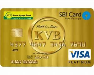 Karur Vysya Bank Karur Vysya Bank Sbi Visa Credit Card Reviews Service